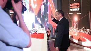 Sportminister Türkei in Köln