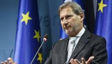 EU-Kommissar Johannes Hahn sieht in den EU-Beitrittsverhandlungen mit der Türkei einen Reformhebel