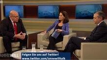 Bei Anne Will waren Kanzleramstminister Peter Altmaier und der türkische Minister für Jugend und Sport Akif Çağatay Kılıç
