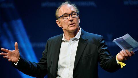 Tim Berners-Lee hat das World Wide Web erfunden - und hat am heutigen Internet einiges auszusetzen.