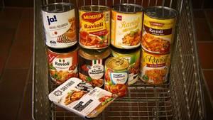 stern TV hat 10 verschiedene Fertig-Ravioli aus dem Supermarkt und vom Discounter getestet.