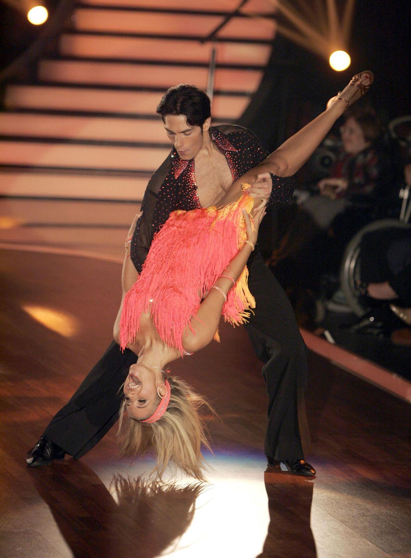 """Susan Sideropoulus und Christian Polanc bei """"Let's Dance"""""""