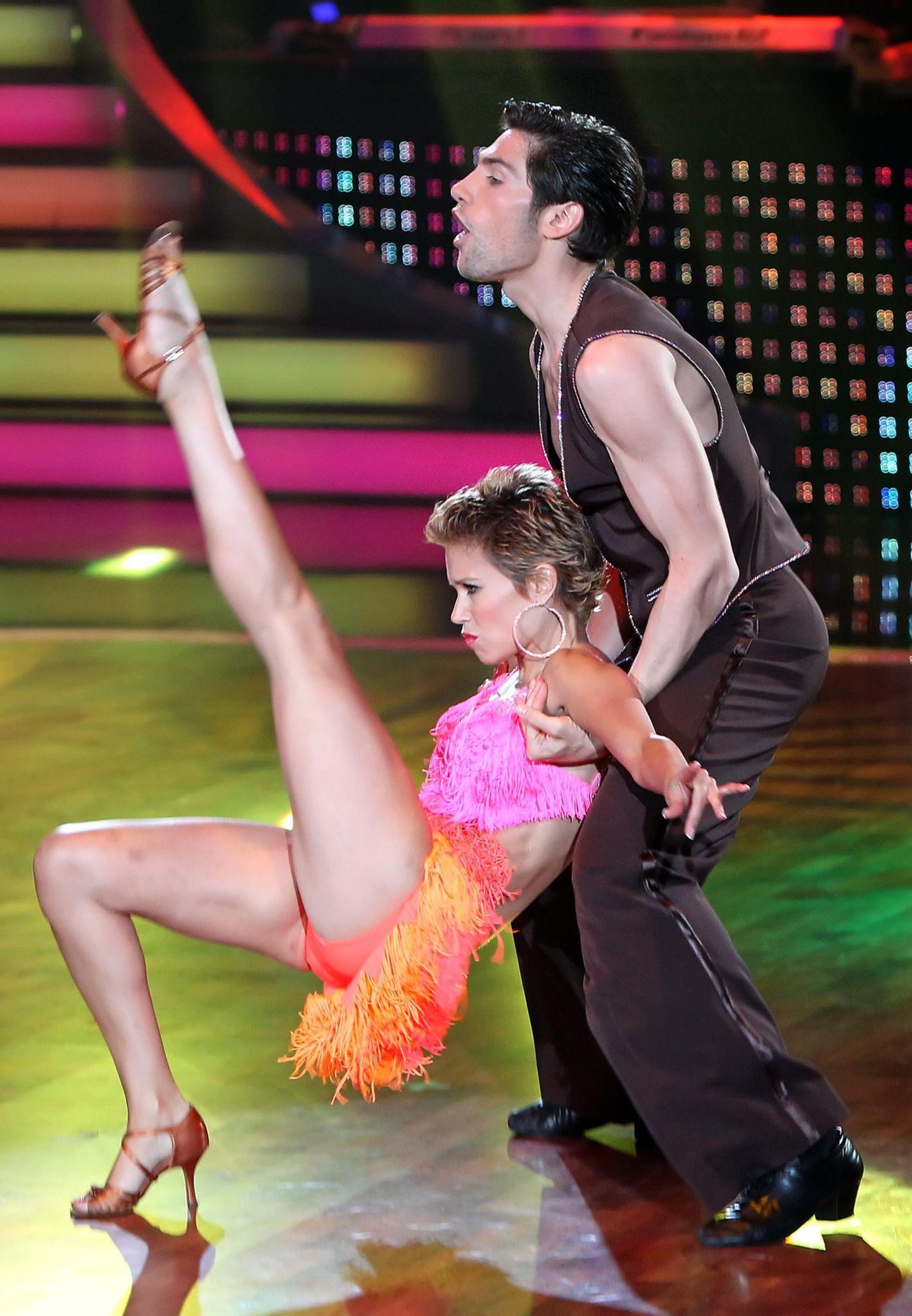 "Sylvie Meis und Christian Polanc bei ""Let's Dance"""