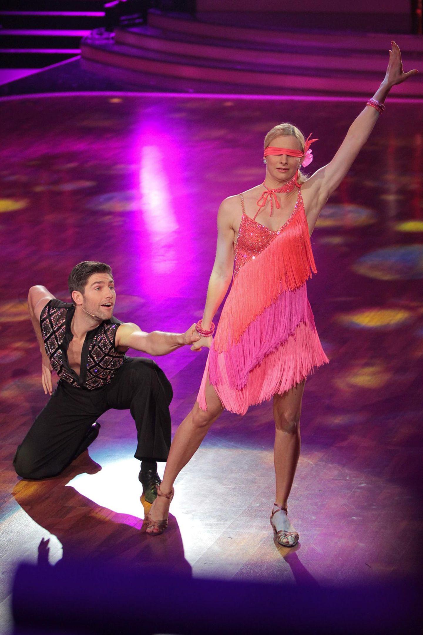 "Joana Zimmer und Christian Polanc bei ""Let's Dance"""