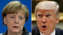 Angela Merkel Donald Trump