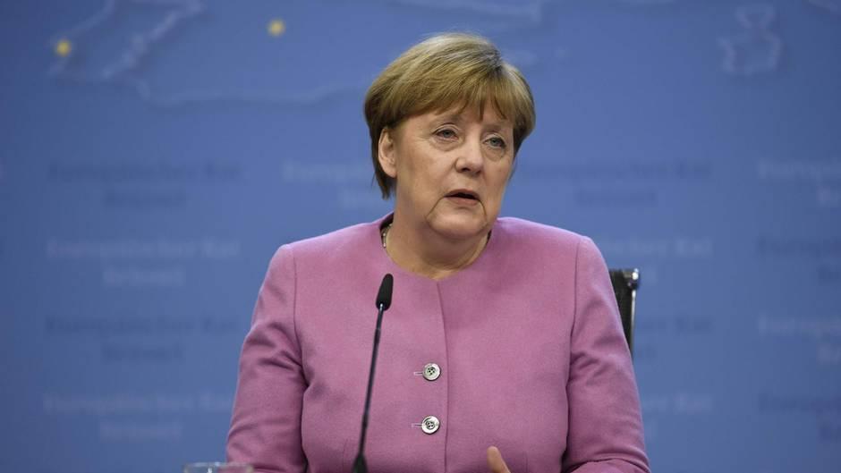 Fliegt nicht wie geplant zu US-Präsident Donald Trump: Bundeskanzlerin Angela Merkel