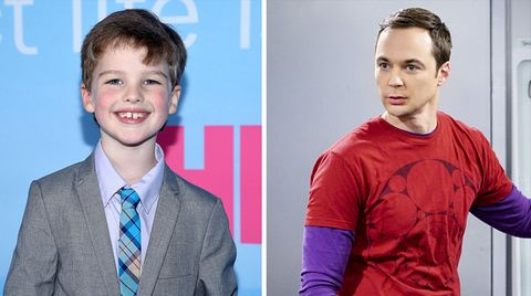 Ian Armitage spielt den jungen Sheldon Cooper im Big Bang Theory Spin-Off