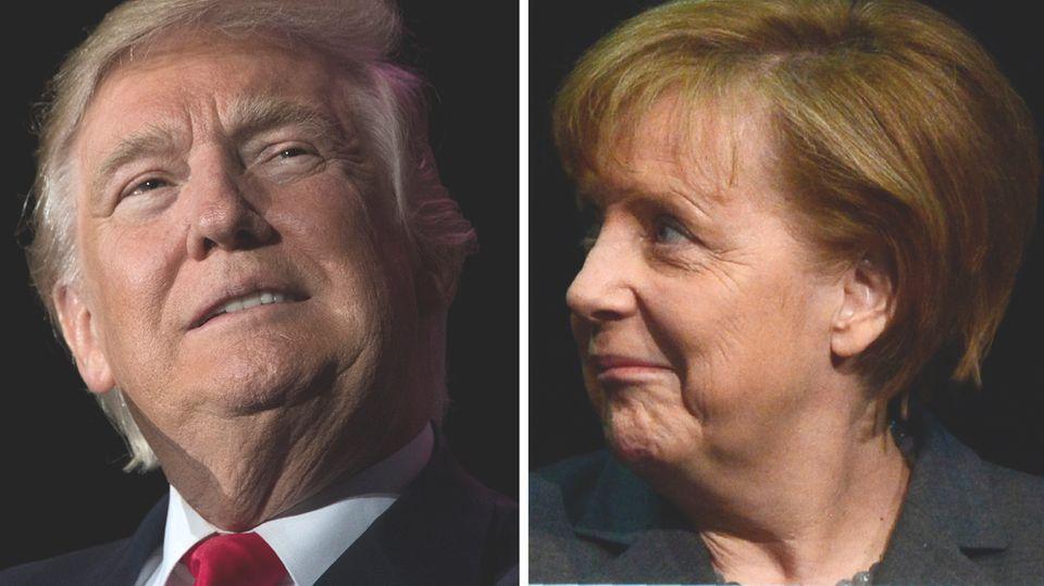 Besuch in Washington: Politisches Speed-Dating: So läuft das Treffen zwischen Trump und Merkel ab
