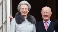 Richard Prinz zu Sayn-Wittgenstein-Berleburg heiratete 1968 Prinzessin Benedikte von Dänemark