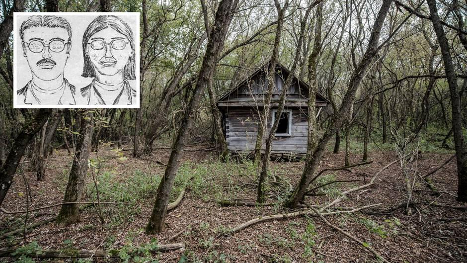 """Die alte """"Cabin 28"""" - vor Jahren wurde sie abgerissen."""
