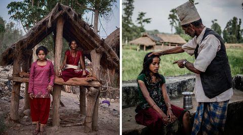 """""""Chaupadi""""-Tradition in Nepal: Tödlicher Aberglaube: Warum Frauen ins Menstruations-Exil geschickt werden"""