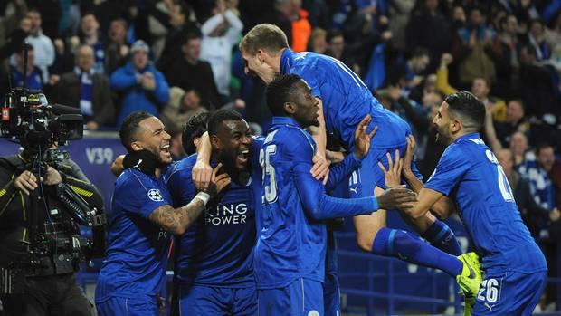 In der Liga auf Abstiegskurs, aber in der Champions League erfolgreich: Leicester City
