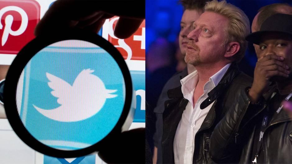Zahlreiche Twitter-Accounts von Prominenten wurden gehackt, darunter das von Boris Becker