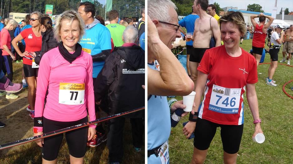 Sandra Otto: Laufen mit, trotz, gegen Brustkrebs