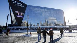 Das U.S.Bank Stadiums in Minneapolis