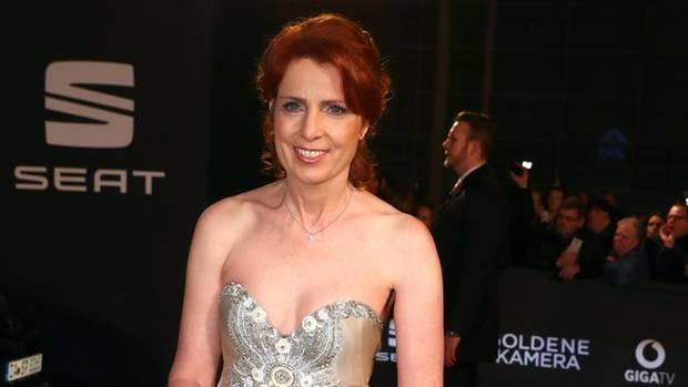 Monica Lierhaus bei der Verleihung der Goldenen Kamera im März 2017
