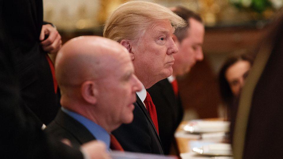 Donald Trump: Weitere Schulden sind kaum möglich.