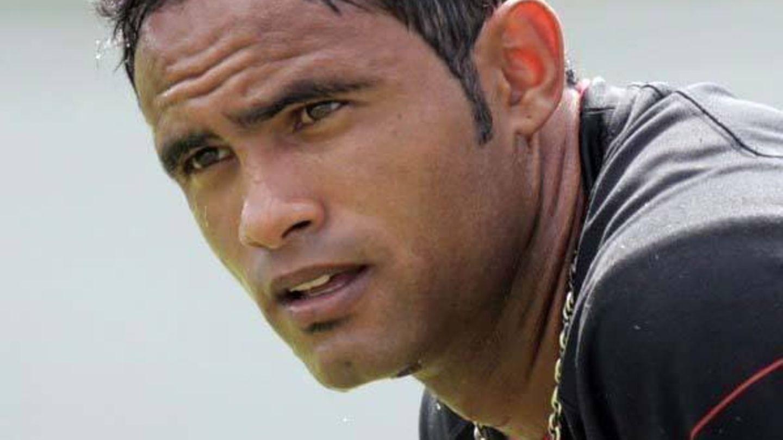 Der Torwart Bruno Fernandes de Souza im Jahr 2008