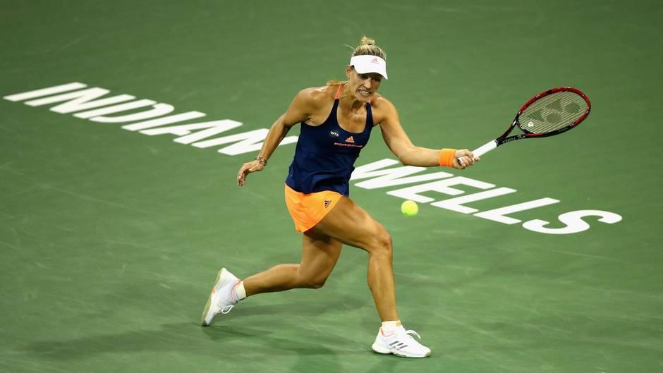 In Indian Wells konnte sich Angelique Kerber nicht gegen die Russin Jelena Wesnina durchsetzen