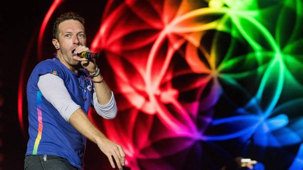 Chris Martin gehört mit seinem Band Coldplay zu den Headlinern des Konzerts zum G-20-Gipfel