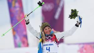 Der schwedische Skicross-Star Anna Holmlund ist kurz vor Weihnachten im Training schwer gestürzt