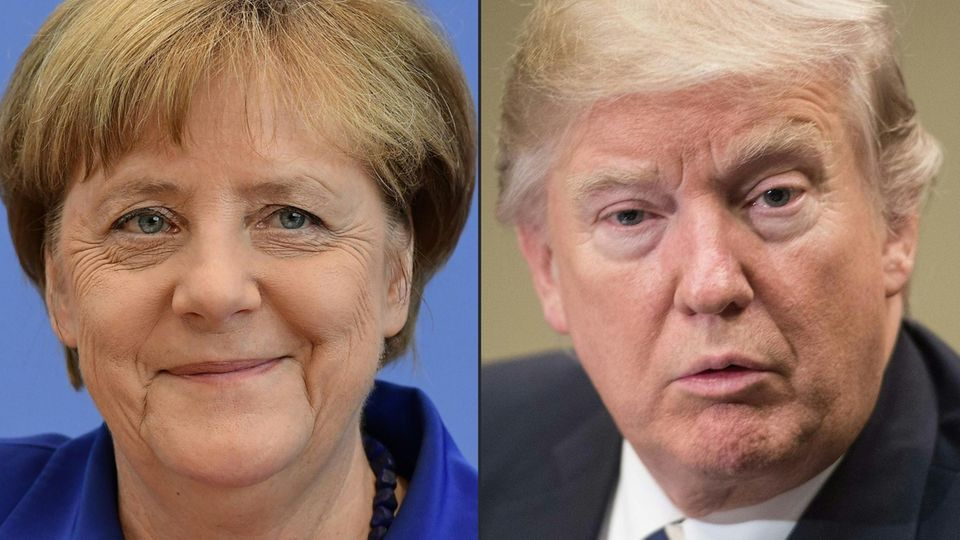 Fragen & Antworten: Merkel und Trump: Das steht beim Kennenlernen in Washington auf dem Spiel