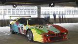 BMW M1 Art Car Andy Warhol 1979