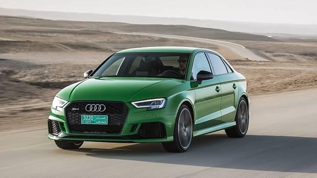 Audi RS3 Limousine - schafft 280 km/h