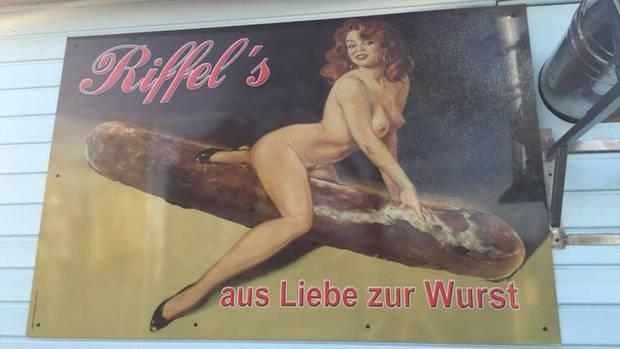 Werbung Bratwurst