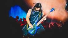 Metallica bei einem Auftritt beim Sonisphere Festival in Italien