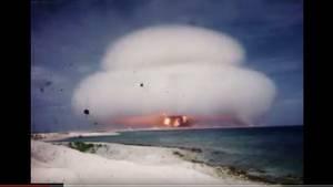 Aufnahmen der Operation Hardtack, einer Serie von US-Atomtests im Jahr 1958