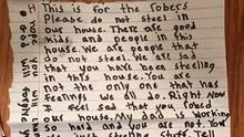 Brief der achtjährigen Wendy