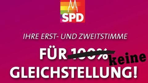 Die SPD und die Ehe für alle
