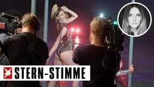 Eine Szene aus Germany´s Next Topmodel (GNMT) auf ProSieben