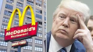 McDonald's hat sich bei US-Präsident Donald Trump entschuldigt. Ein Hacker hatte einen beleidigenden Tweet über Account der Fastfood-Kette verbreitet.