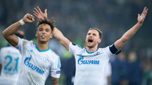 Gegen Gladbach konnten die Schalke-Spieler noch jubeln. Nun geht es in der Europa League gegen Ajax Amsterdam