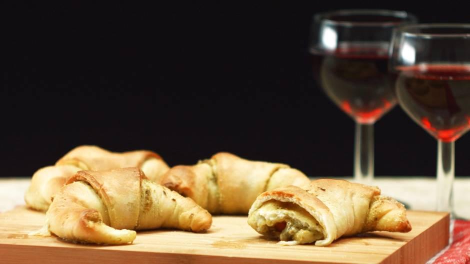 Rezept für Fingerfood: So genial verpackt haben Sie Pesto noch nicht gegessen