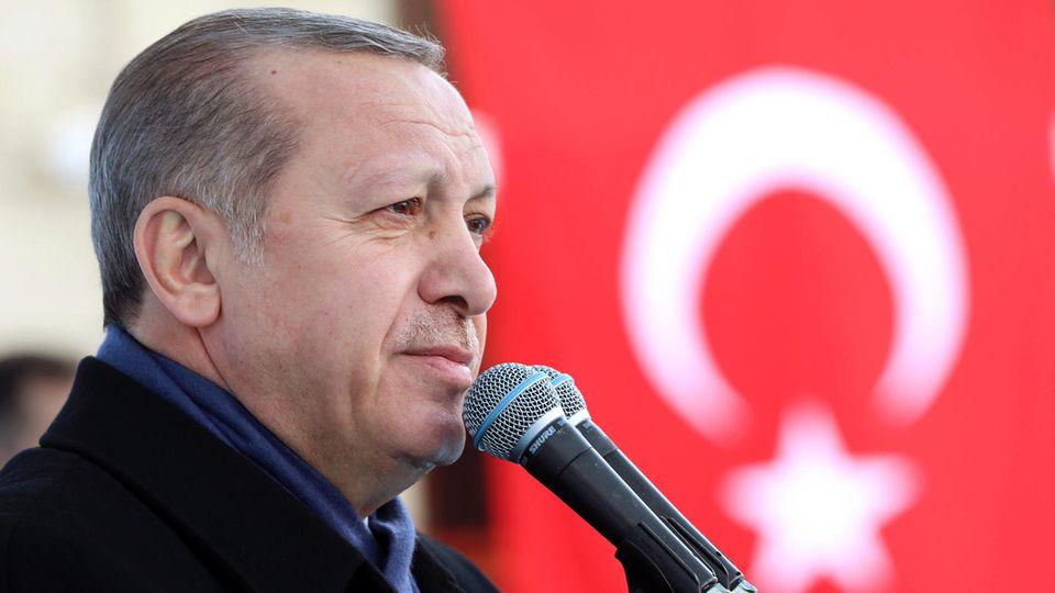 Der türkische Präsident Recep Tayyip Erdogan ruft seine Landsleuten in Europa dazu auf, mehrere Kinder zu kriegen