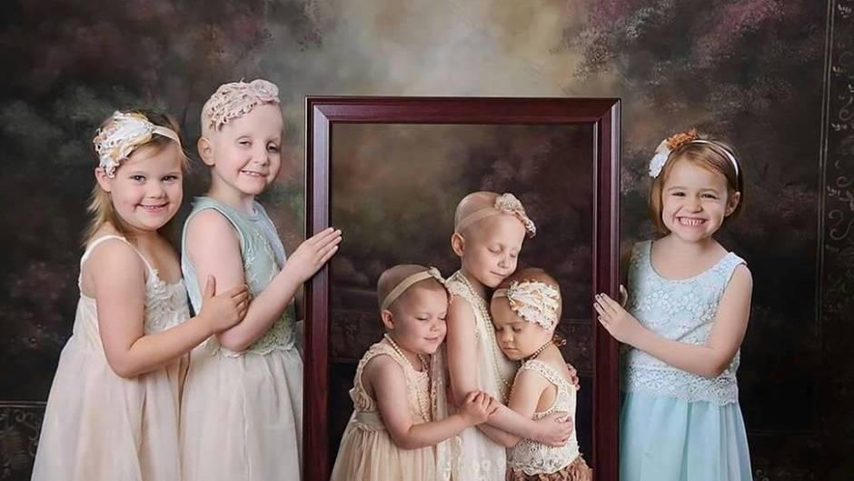 Berührendes Fotoshooting: Vor drei Jahre kämpften diese Mädchen gegen den Krebs - so sehen sie heute aus