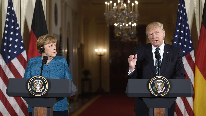 US-Präsident Donald Trump betont in seinem Statement nochmals die Wichtigkeit der Nato