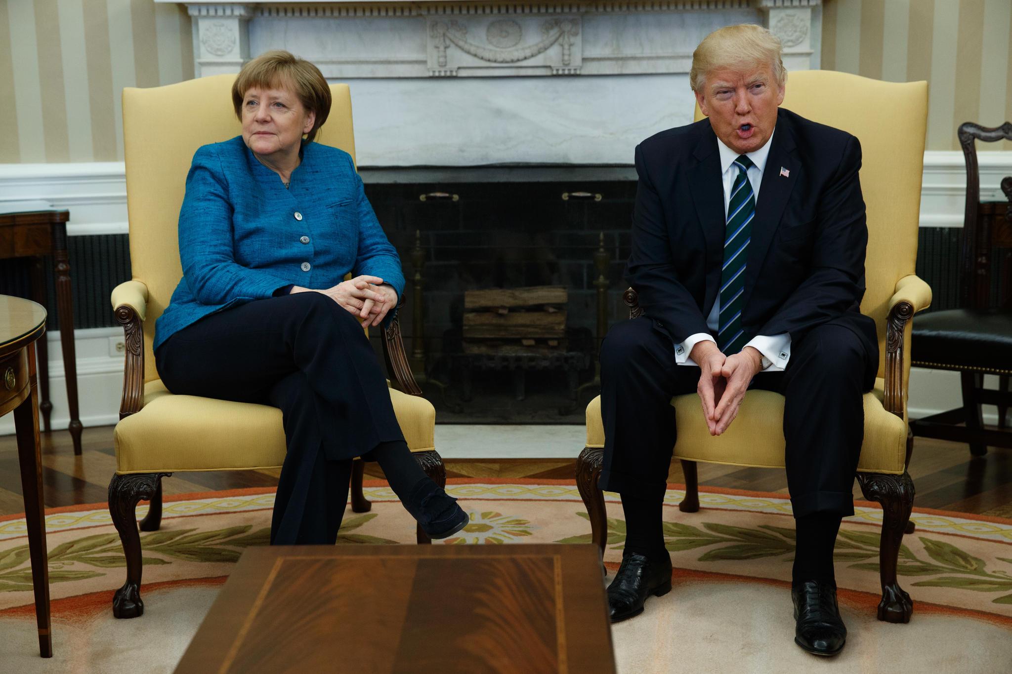 Kein Handschlag im Oval fice so reagiert das Netz auf Trump und