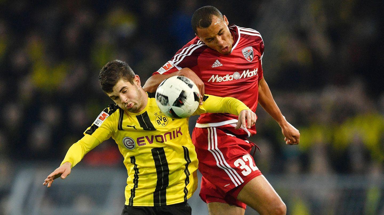 Christian Pulisic von Dortmund leidet unter Ingolstadts Marcel Tisserand