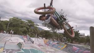 Einbeiniger BMX-Star aus Kolumbien