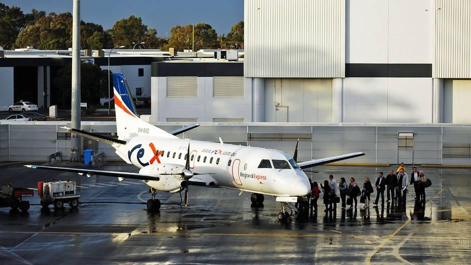 Saab 340 der australischen Airline Regional Express Rex