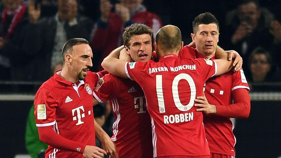Thomas Müller erzielte das entscheidende Tor für sein Team