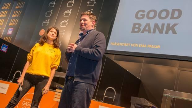"""Mehr Innovation geht nicht: Ema Paulin ist Mitgründerin von """"Good Bank"""", ein Restaurant, das die Zutaten von der Farm auf den Teller in weniger als 30 Sekunden bringt."""