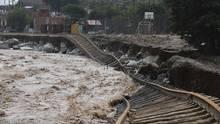 Überschwemmung in Peru