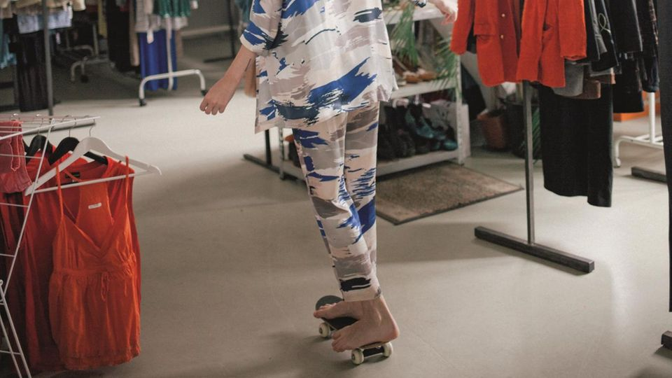 Die Kleiderei steht vor allem für außergewöhnliche Teile. Basics gibt es eher selten.