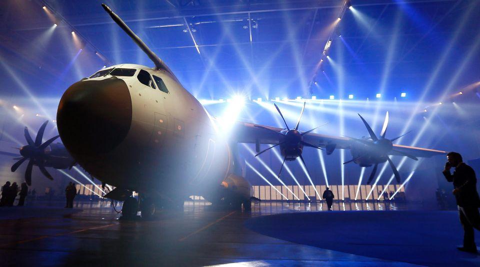 Großer Auftritt, kleine Leistung: DerAirbus A400M wird von Pleiten und Pannen verfolgt.