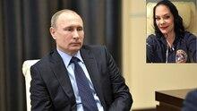 Wladimir Putin sitzt auf einem Stuhl und guckt etwas bedröppelt.